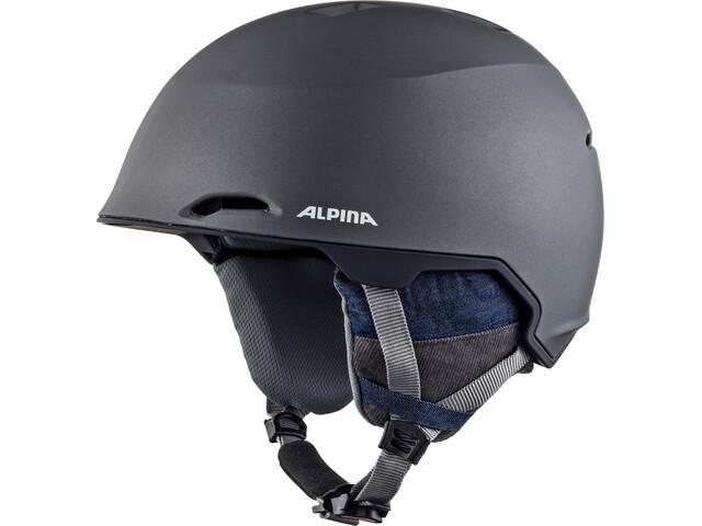Alpina Maroi Casque de ski, denim-grey matt